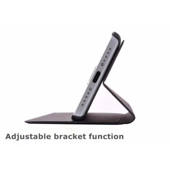 MI Flip Leather phone cover case For Xiaomi Redmi 4X(Black)  - intl - 4