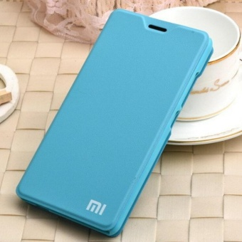 MI Flip Leather phone cover case For Xiaomi Redmi Note4X(Blue)  - intl