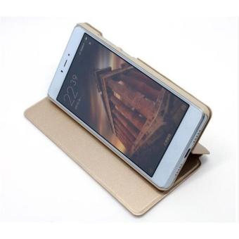 MI Flip Leather phone cover case For Xiaomi Redmi Note4X(Blue)  - intl - 2