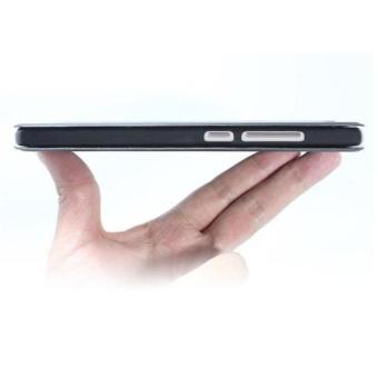 MI Flip Leather phone cover case For Xiaomi Redmi Note4X(Blue)  - intl - 3