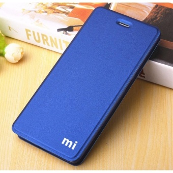 Mi Logo Flip Cover Leather Case For Xiao m i Mi Max - intl