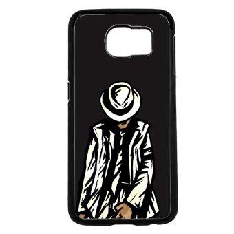 Michael Jackson Pattern Phone Case For Samsung Galaxy S6 (Black)