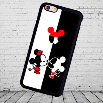 Mickey Minnie Mouse Kissing phone case for iPhone 4 4S - intl