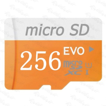 Micro SD Card 48MB/s 256GB EVO Class10 SDHC/SDXC Memory TF Card(Orange) - intl