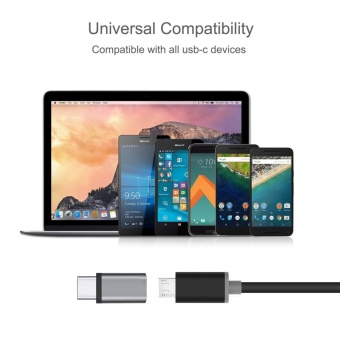 Micro USB to USB C Adapter,Type C Adapter, [3Pack] GogerstarConvert Connector, Data Syncing and Charging,Universal for GalaxyS8 S8 Plus,MacBook,ChromeBook Pixel,Nexus 5X,Nexus 6P,OnePlus 2 andMore - intl - 5