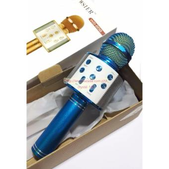 Microphone Wireless KTV Karaoke Bluetooth Handheld Mic HIFI Speaker WS858 - 3