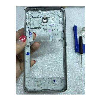 Middle Frame Bezel Cover For Samsung Galaxy Grand Prime G531H SM-G531 middle frame (Double Card) - intl - 4