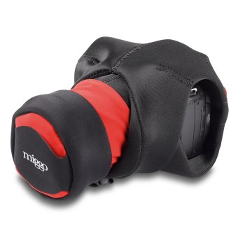 Miggo SLR Grip and Wrap Camera Bag Strap (Black/Red)