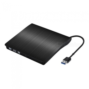 Miimall Portable External Player DVD CD Drive - Black - intl