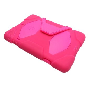 Military Shockproof Case with Stand for Apple iPad Air (Pink)