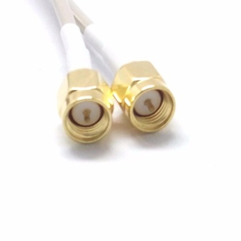 Mimo Antenna 4G LTE 35 dbi 5 meters cable with SMA for Huawei B593B315 E5186 - 3