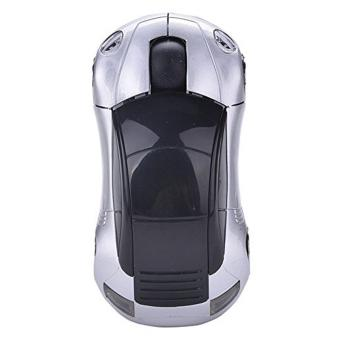 Mini 2.4Ghz Wireless Optical Mouse Mice Car Shape USB Receiver for PC Laptop Notebook USB Receiver