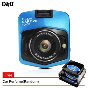 Mini Car DVR Camera 258 Camcorder 1080P Full HD Video RecorderParking Recorder G-sensor HDMI Camcorder(Blue) With Free TA-XS-01Car Perfume(Random) Price Philippines