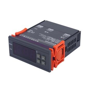Mini Digital Temperature Controller 220V 10A LCD Display Thermostatfor Refrigerators Farms - intl - 2