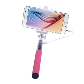 Mini Handheld Extendable Monopod For Cell Phone (Pink) - picture 3