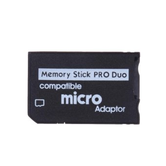Mini Memory Stick Pro Duo Card Reader Micro SD TF to MS CardAdapter - intl