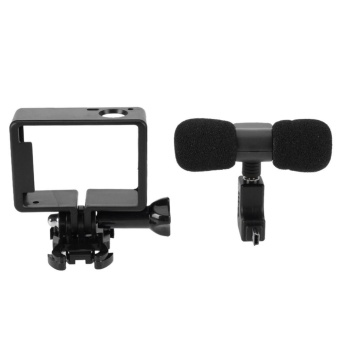 Mini Microphone Stereo 3.5mm Camera Accessory for GoPro Hero 3/3+/4- intl