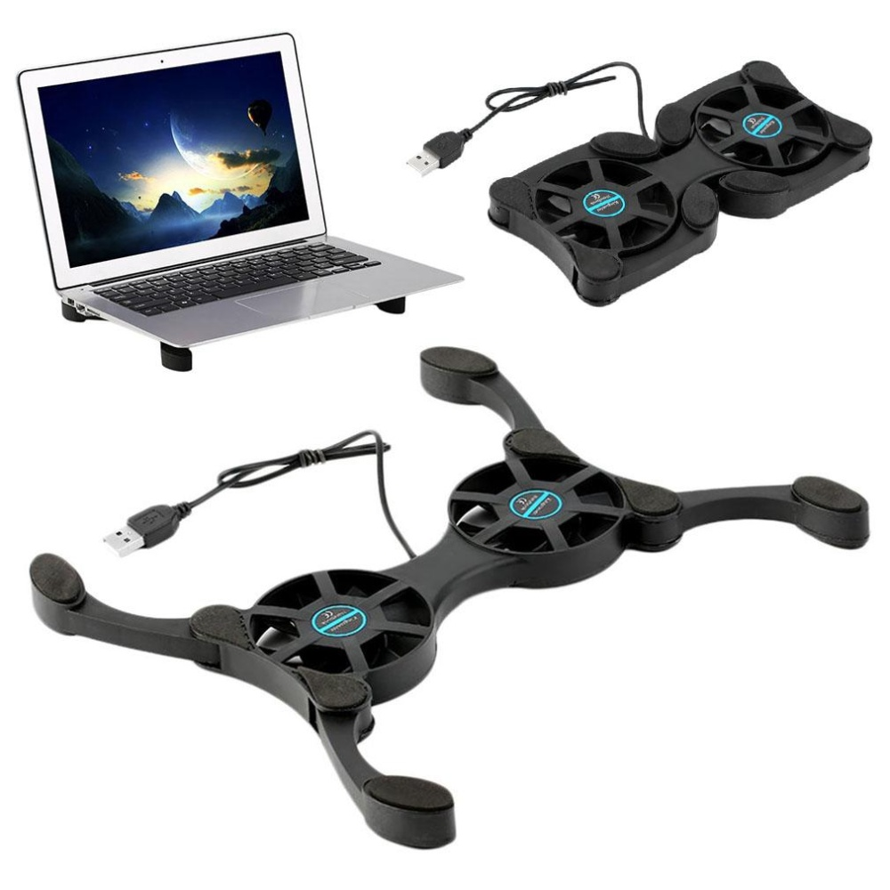 Philippines Mini Octopus Shape Foldable Usb Cooling Pad Cooler Fan For Macbooknotebook Intl