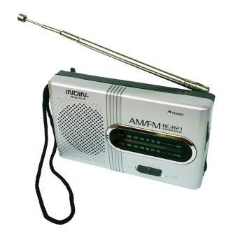 Mini Portable Pocket AM FM Telescopic Antenna Radio World ReceiverSpeaker FM 88-108MHz AM 530-1600KHz BC-R21 - intl