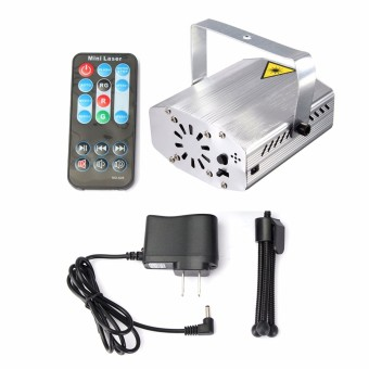 Mini R&G Auto/Voice Xmas DJ Club Party LED Laser Stage Light Projector + Remote US - Intl