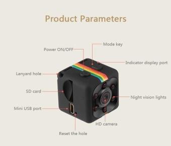 Mini SQ11 Full HD 1080P DV Sport Action Camera Car DVR VideoRecorder Camcorder - intl - 4