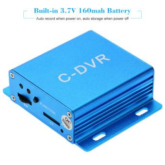 Mini VGA DVR Security Surveillance Digital Video Recorder support TF Card Audio Record Motion Detection for CCTV 1200TVL Camera - intl - 3