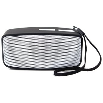 Mini Wireless Bluetooth Speaker with FM Function (Gray)