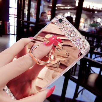 Mirror Phone Case Lady Cover Casing Phonecase For OPPO F1S - intl - 5