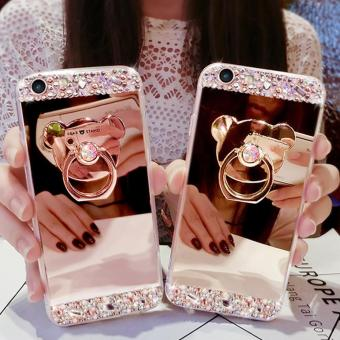 Mirror Phone Case Lady Cover Casing Phonecase For OPPO F1S - intl - 3
