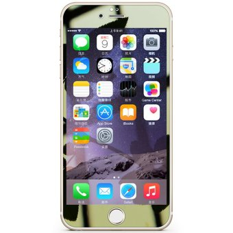 Mirror Tempered Glass for iPhone 6 Plus/6S Plus (Gold) Price Philippines