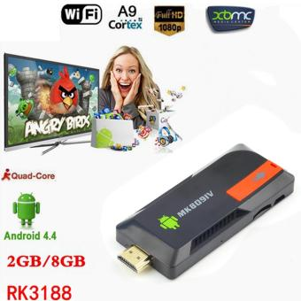 MK809IV Mini PC Smart TV Box Stick Android 4.4 Quad Core 2G/8G XBMC DLNA WiFi EU Plug Price Philippines