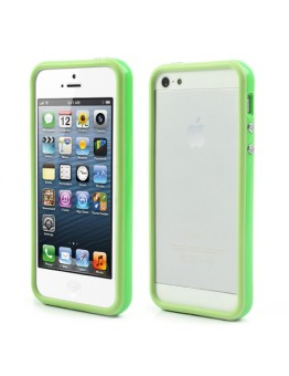 Mobile Wonders iPhone 5/5S Bumper Case (Green)