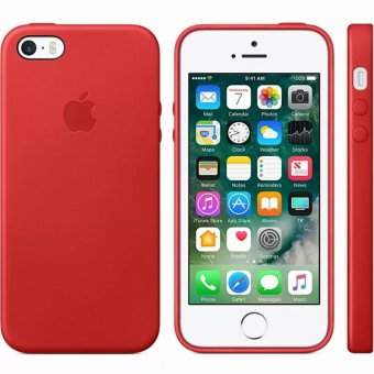 Mobilehub Leather Slim Case For Apple iPhone 5 / 5s /SE (Red) Price Philippines