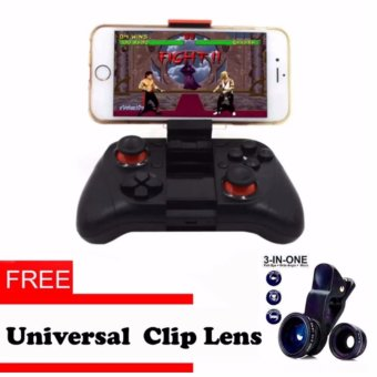 MOCUTE Wireless Game Controller Bluetooth Gamepad Android Joystick PC Controller for iphone iOS Andriod Smartphones with free Universal Clip Lense