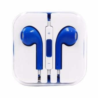 Model Stereo In-Ear Headphones (Blue)