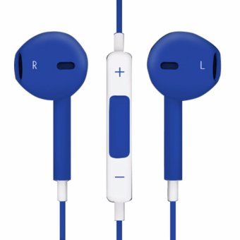Model Stereo In-Ear Headphones (Blue) - 4
