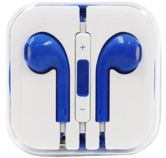 Model Stereo In-Ear Headphones for iPhone (Blue)