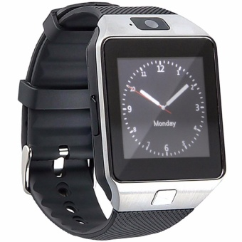 Modoex DZ09 Bluetooth Touch Screen Smart Wrist Watch Phone with Camera (Silver/Black)