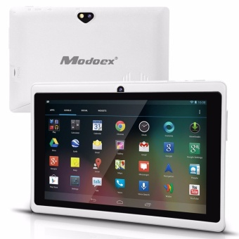Modoex M710 Upgraded 1024 x 800 IPS Screen 512MB RAM 8GB ROM A7 Cortex Quad Core Tablet(White)