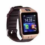 Modoex M9 Phone Quad Smart Watch (Gold/Brown)