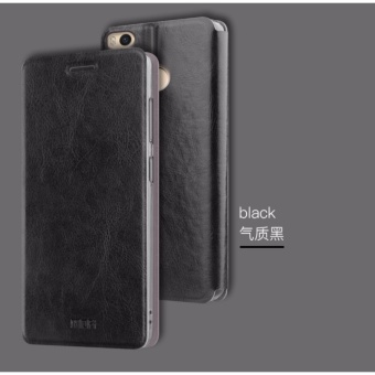 Mofi Stand Flip PU Leather Contrast Color Phone Case for Xiaomi Mi Max 2 - intl