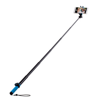 MOMAX Selfie Hero XL Touchless Stick Extendable Self-portraitMonopod - Blue / Yellow Price Philippines