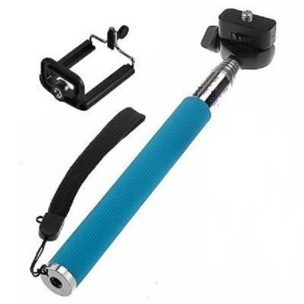 Monopod for Smartphones and Cameras with Stand Holder-(Blue) - picture 2