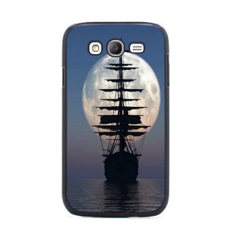 Moon Night Pattern Phone Case for Samsung Galaxy S3 (Multicolor)