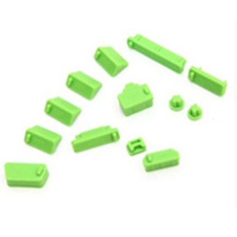 Moonar 13pcs Protective Ports Cover Silicone Anti-Dust Plug Stopper for Laptop Notebook - intl
