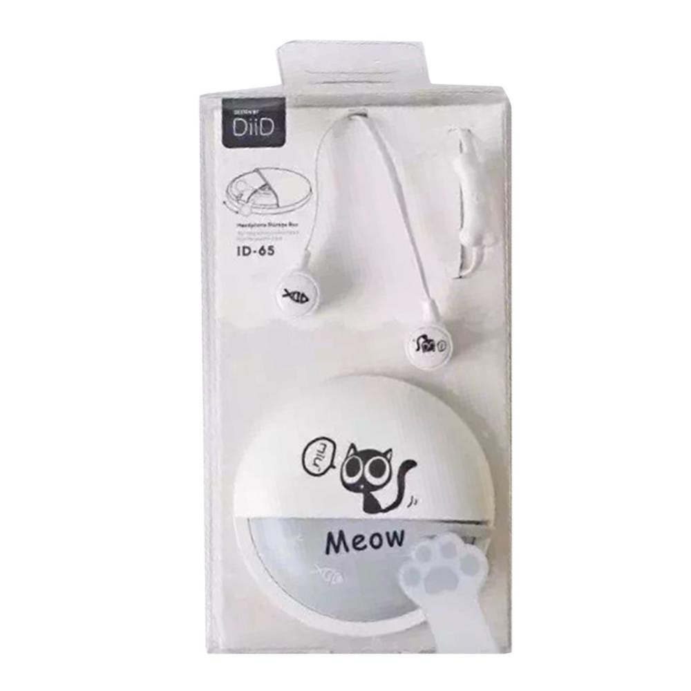 ... Moonar For Phone Mp3 Mp4 Girl Kid Child Student Gift Cute Cat In-ear Stereo ...