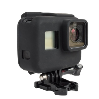 Moonar Gopro Accessories Hero 5 Soft Silicone Cover Side Frame Protective Case for Go Pro Hero Hero5 Gopro5 Sport Action Camera - intl