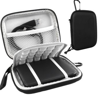 Moonar Protective Shockproof Hard Drive Bag Case for 2.5 inch External Hard Drive - intl Price Philippines