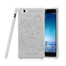 PHP 592 Moonmini 3D Dragon Relief Ultra Thin Soft Silicone Anti knock Rubber .