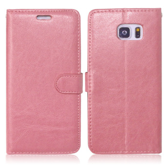 Moonmini PU Leather Flip Stand Case Wallet Cover for Samsung GalaxyNote 5 (Pink) - 2